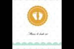 Empreintes de bébé Étiquettes rondes - gabarit prédéfini. <br/>Utilisez notre logiciel Avery Design & Print Online pour personnaliser facilement la conception.