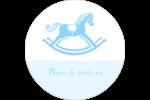 Cheval à bascule Étiquettes de classement - gabarit prédéfini. <br/>Utilisez notre logiciel Avery Design & Print Online pour personnaliser facilement la conception.