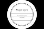 Modernité Étiquettes de classement - gabarit prédéfini. <br/>Utilisez notre logiciel Avery Design & Print Online pour personnaliser facilement la conception.