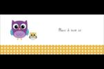 Bébé hibou Affichette - gabarit prédéfini. <br/>Utilisez notre logiciel Avery Design & Print Online pour personnaliser facilement la conception.