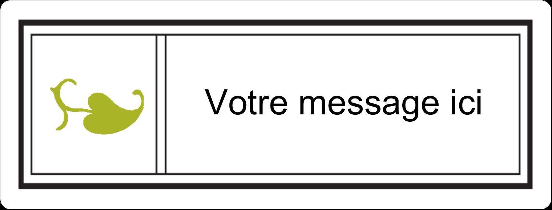"""½"""" x 1¾"""" Étiquettes D'Adresse - Modernité"""
