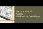 Arche 1 Étiquettes D'Adresse - gabarit prédéfini. <br/>Utilisez notre logiciel Avery Design & Print Online pour personnaliser facilement la conception.
