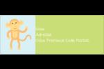 Bébé safari Étiquettes D'Adresse - gabarit prédéfini. <br/>Utilisez notre logiciel Avery Design & Print Online pour personnaliser facilement la conception.