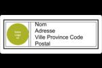 Modernité Étiquettes D'Adresse - gabarit prédéfini. <br/>Utilisez notre logiciel Avery Design & Print Online pour personnaliser facilement la conception.