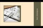 Arche 1 Carte d'affaire - gabarit prédéfini. <br/>Utilisez notre logiciel Avery Design & Print Online pour personnaliser facilement la conception.