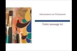 Pinceaux modernes en tons naturels Carte Postale - gabarit prédéfini. <br/>Utilisez notre logiciel Avery Design & Print Online pour personnaliser facilement la conception.