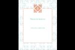 Concept Arc Orange Carte Postale - gabarit prédéfini. <br/>Utilisez notre logiciel Avery Design & Print Online pour personnaliser facilement la conception.