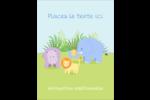Bébé safari Carte Postale - gabarit prédéfini. <br/>Utilisez notre logiciel Avery Design & Print Online pour personnaliser facilement la conception.