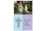 Add springtime style to your project with pre-designed Stained Glass Cross templates.