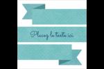 Ruban turquoise Étiquettes enveloppantes - gabarit prédéfini. <br/>Utilisez notre logiciel Avery Design & Print Online pour personnaliser facilement la conception.