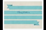 Ruban turquoise Badges - gabarit prédéfini. <br/>Utilisez notre logiciel Avery Design & Print Online pour personnaliser facilement la conception.