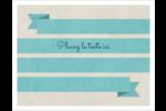 Ruban turquoise Cartes Et Articles D'Artisanat Imprimables - gabarit prédéfini. <br/>Utilisez notre logiciel Avery Design & Print Online pour personnaliser facilement la conception.