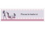 Salon Silhouette Affichette - gabarit prédéfini. <br/>Utilisez notre logiciel Avery Design & Print Online pour personnaliser facilement la conception.