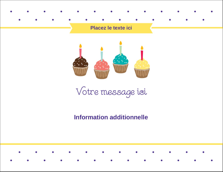 """4¼"""" X 5½"""" Carte Postale - Fournitures d'anniversaire"""