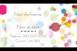 Confettis d'anniversaire Carte d'affaire - gabarit prédéfini. <br/>Utilisez notre logiciel Avery Design & Print Online pour personnaliser facilement la conception.
