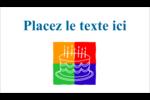 Gâteau d'anniversaire Carte d'affaire - gabarit prédéfini. <br/>Utilisez notre logiciel Avery Design & Print Online pour personnaliser facilement la conception.