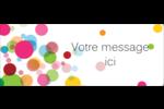 Confettis d'anniversaire Étiquettes D'Adresse - gabarit prédéfini. <br/>Utilisez notre logiciel Avery Design & Print Online pour personnaliser facilement la conception.