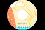 Surfeur rétro Étiquettes de classement - gabarit prédéfini. <br/>Utilisez notre logiciel Avery Design & Print Online pour personnaliser facilement la conception.