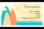 Surfeur rétro Carte d'affaire - gabarit prédéfini. <br/>Utilisez notre logiciel Avery Design & Print Online pour personnaliser facilement la conception.