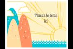 Surfeur rétro Cartes Et Articles D'Artisanat Imprimables - gabarit prédéfini. <br/>Utilisez notre logiciel Avery Design & Print Online pour personnaliser facilement la conception.