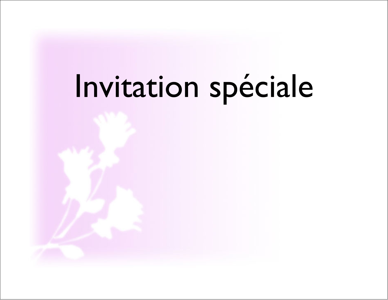 """4¼"""" x 5½"""" Cartes de notes - Trois fleurs"""