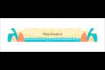 Surfeur rétro Carte de note - gabarit prédéfini. <br/>Utilisez notre logiciel Avery Design & Print Online pour personnaliser facilement la conception.