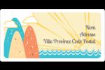 Surfeur rétro Étiquettes de classement écologiques - gabarit prédéfini. <br/>Utilisez notre logiciel Avery Design & Print Online pour personnaliser facilement la conception.