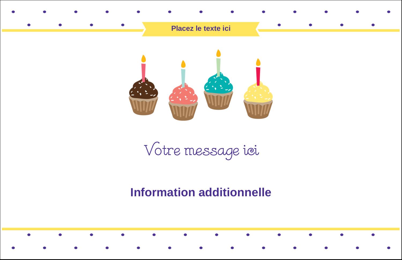 """8½"""" x 11"""" Cartes Et Articles D'Artisanat Imprimables - Fournitures d'anniversaire"""