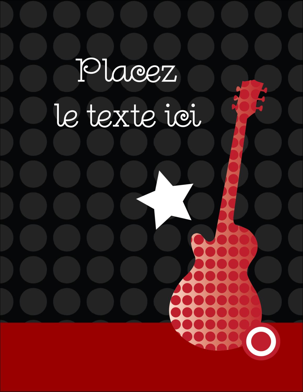 "5½"" x 4¼"" Carte Postale - Guitare d'anniversaire"