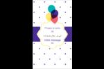 Fournitures d'anniversaire Carte d'affaire - gabarit prédéfini. <br/>Utilisez notre logiciel Avery Design & Print Online pour personnaliser facilement la conception.