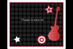 Guitare d'anniversaire Étiquettes d'expédition - gabarit prédéfini. <br/>Utilisez notre logiciel Avery Design & Print Online pour personnaliser facilement la conception.