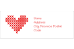 Weave threads of love into your project with pre-designed Valentine Cross Stitch templates.