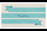 Ruban turquoise Cartes Pour Le Bureau - gabarit prédéfini. <br/>Utilisez notre logiciel Avery Design & Print Online pour personnaliser facilement la conception.