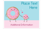 Sprinkle love into custom projects with pre-designed Completely Sweet templates.