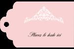Diadème rose Étiquettes imprimables - gabarit prédéfini. <br/>Utilisez notre logiciel Avery Design & Print Online pour personnaliser facilement la conception.