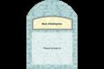 Vert d'antan Étiquettes rectangulaires - gabarit prédéfini. <br/>Utilisez notre logiciel Avery Design & Print Online pour personnaliser facilement la conception.