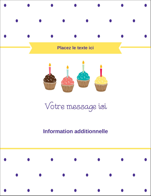 """5½"""" x 4¼"""" Carte Postale - Fournitures d'anniversaire"""