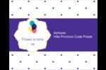 Fournitures d'anniversaire Étiquettes rondes gaufrées - gabarit prédéfini. <br/>Utilisez notre logiciel Avery Design & Print Online pour personnaliser facilement la conception.