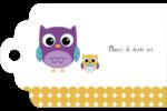 Bébé hibou Étiquettes imprimables - gabarit prédéfini. <br/>Utilisez notre logiciel Avery Design & Print Online pour personnaliser facilement la conception.