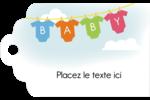 Combinaisons pour bébé Étiquettes imprimables - gabarit prédéfini. <br/>Utilisez notre logiciel Avery Design & Print Online pour personnaliser facilement la conception.