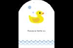 Petit canard Étiquettes rectangulaires - gabarit prédéfini. <br/>Utilisez notre logiciel Avery Design & Print Online pour personnaliser facilement la conception.