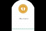 Empreintes de bébé Étiquettes rectangulaires - gabarit prédéfini. <br/>Utilisez notre logiciel Avery Design & Print Online pour personnaliser facilement la conception.