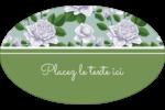 Savon fleurs vertes Étiquettes carrées - gabarit prédéfini. <br/>Utilisez notre logiciel Avery Design & Print Online pour personnaliser facilement la conception.