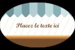 Ciseaux Étiquettes carrées - gabarit prédéfini. <br/>Utilisez notre logiciel Avery Design & Print Online pour personnaliser facilement la conception.