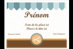 Ciseaux Badges - gabarit prédéfini. <br/>Utilisez notre logiciel Avery Design & Print Online pour personnaliser facilement la conception.