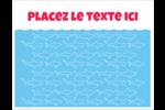 Requins bleus Cartes Et Articles D'Artisanat Imprimables - gabarit prédéfini. <br/>Utilisez notre logiciel Avery Design & Print Online pour personnaliser facilement la conception.