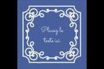 Calque élégant Étiquettes carrées - gabarit prédéfini. <br/>Utilisez notre logiciel Avery Design & Print Online pour personnaliser facilement la conception.