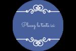 Calque élégant Étiquettes de classement - gabarit prédéfini. <br/>Utilisez notre logiciel Avery Design & Print Online pour personnaliser facilement la conception.