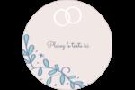 Réservez la date bleu Étiquettes de classement - gabarit prédéfini. <br/>Utilisez notre logiciel Avery Design & Print Online pour personnaliser facilement la conception.