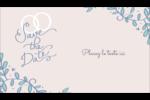 Réservez la date bleu Carte d'affaire - gabarit prédéfini. <br/>Utilisez notre logiciel Avery Design & Print Online pour personnaliser facilement la conception.